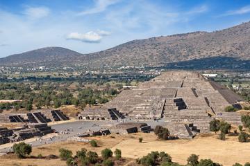 Circuit privé: Sortie à la journée aux pyramides de Teotihuacan avec...