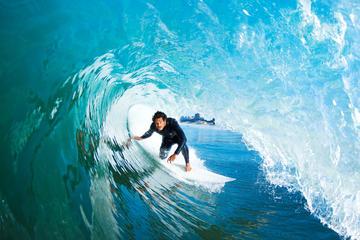 Clase de surf en Huatulco