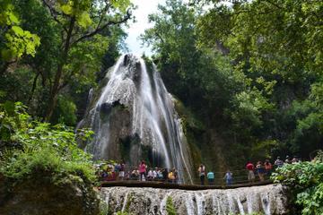 Cola de Caballo Waterfall and Villa...