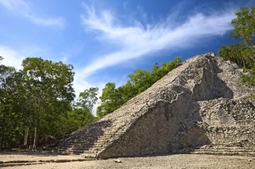 ExclusivitéViator: excursion matinale aux ruines de Coba avec un...