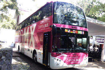 Hop-On Hop-Off Capital Bus Pass and Kidzania Admission in Mexico City