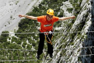 Huasteca Canyon Via Ferrata Zipline Adventure