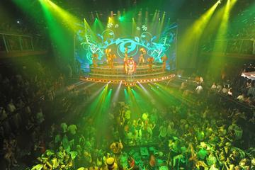 Nattklubben CoCo Bongo Cancún med VIP-pass som tillval