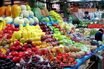 Recorrido por los mercados de Ciudad de México: mercados de La...