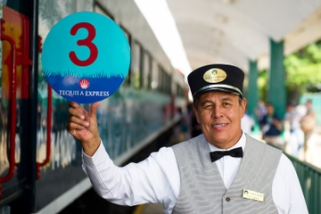 Tequila Express: Recorrido en tren turístico de tequila en...