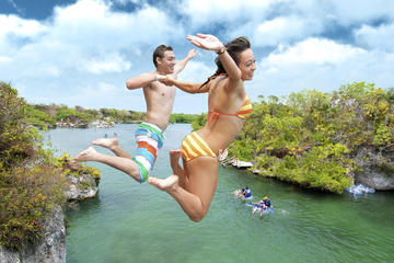 Tulum Early Access Day Tour and Xel-Ha All Inclusive Combo from Tulum
