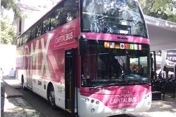 Visite de Mexico en bus à arrêts multiples