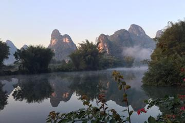 Private Half-Day Bike and Bamboo Raft Tour in Yangshuo