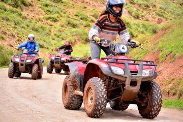 ATV Quad Bike Tour to Moray Maras and Salt mines from Cusco