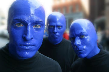 Blue Man Group Show in Boston