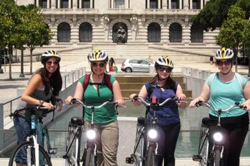 Excursão de bicicleta no Porto