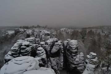 Bohemian Switzerland National Park: Winter Hiking Tour