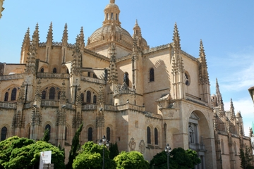 Excursão privada: Viagem de um dia de Madrid a Segóvia em trem de...