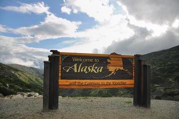 Escursione a terra a Skagway: tour della cima del White Pass