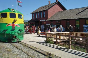 Voyage en train Bennett sur la ligne de chemin de fer White Pass Rail
