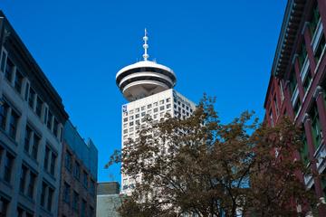 Entrada no mirante de Vancouver