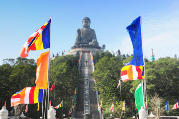 Kombi-Pass: MTR, Transfer, Ngong Ping, Motion 360, Walking with Buddha
