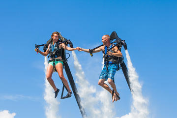 Experiencia en mochila propulsora en Oahu