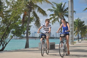 Fietstocht naar Miami Beach met optionele kajaktour