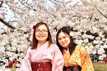 Kimono Experience in Gorgeous Ritsurin Garden in Kagawa