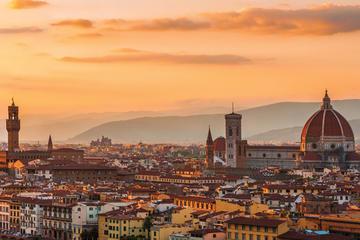 フィレンツェ発アカデミア ギャラリーを含むフィレンツェ グランド パノラミッ…