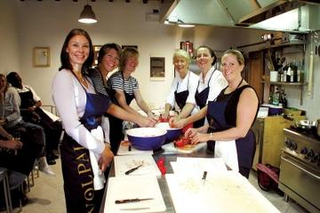 Aula de culinária toscana em Siena