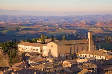Excursão de um dia a San Gimignano e para degustação de vinho Chianti...