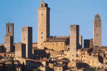 Excursion d'une journée à San Gimignano au départ de Sienne, avec une...