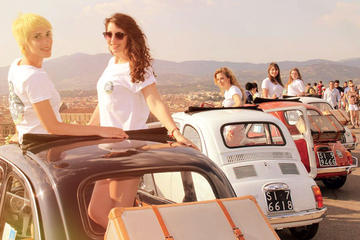 Half-Day Self-Drive Vintage Fiat 500 Tour from Florence