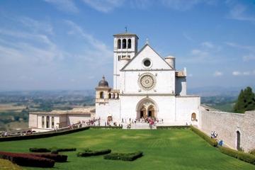 Passeio de um dia por Assis e Cortona saindo de Siena