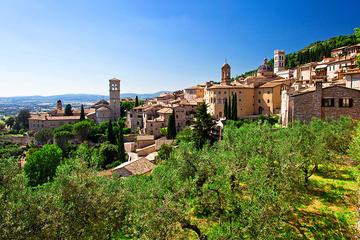 Perugia, Asís y Cortona desde...