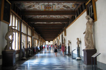 Uffizi Gallery Monolingual Tour from Montecatini