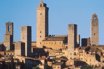 Viagem de um dia a San Gimignano saindo de Siena com degustação de...