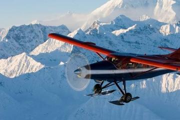 Mt McKinley Tour im Flugzeug von Anchorage aus mit Gletscherlandung
