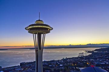 Entrada para o Mirante de Seattle...