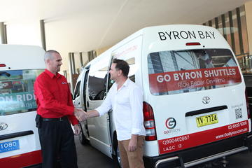 Go Shuttle Airport Transfers from Ballina Byron Airport or Gold Coast...