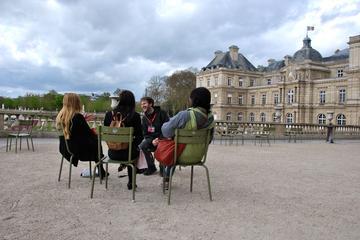 Excursão a pé em Paris...