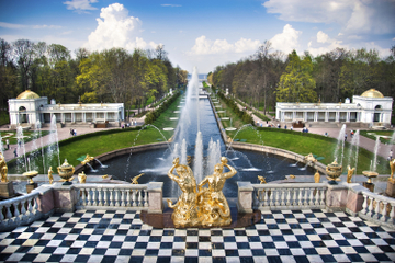Private Führung: Peterhof Palast in St. Petersburg