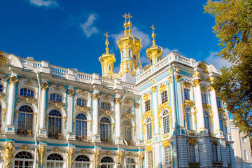 Recorrido privado: Excursión de un día a Pushkin desde San...