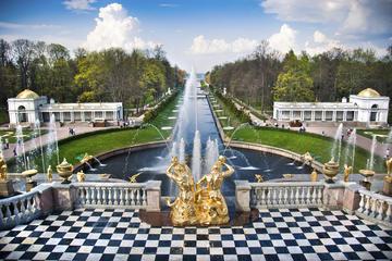 Visita privada: Palacio Peterhof en San Petersburgo