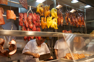 Essens-Rundgang durch Hongkong: Viertel Central und Sheung Wan