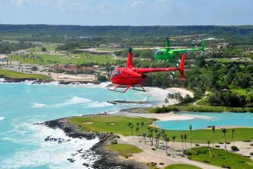 A excursão de helicópitero parte de Punta Cana