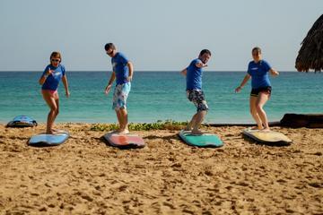 Clase de surf en Punta Cana