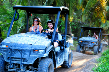 Excursão combo para Punta Cana: Buggy off-road e catamarã com almoço