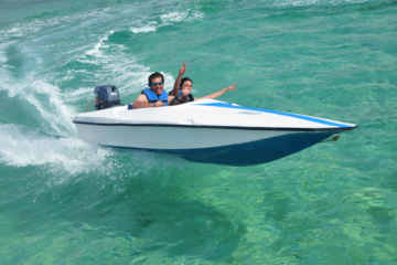 Kombinierte Punta Cana-Tour: Schnellbootfahrt, Snuba und Schnorcheln