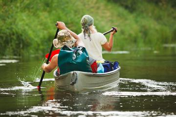 Aventura en canoa en el río Chena...