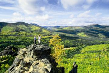 Day Trip Hiking Expedition at Angels Rock near Fairbanks, Alaska