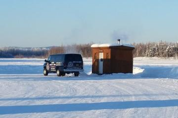 Ice Fishing Trip in Fairbanks