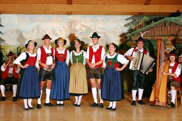Espectáculo folclórico tirolés en Innsbruck