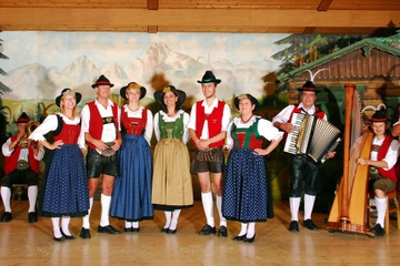 Spectacle folklorique tyrolien à Innsbruck
